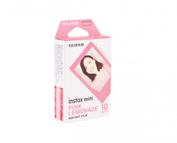 Fuji instax mini instant film | Pink Lemonade Edition | 10 exposures