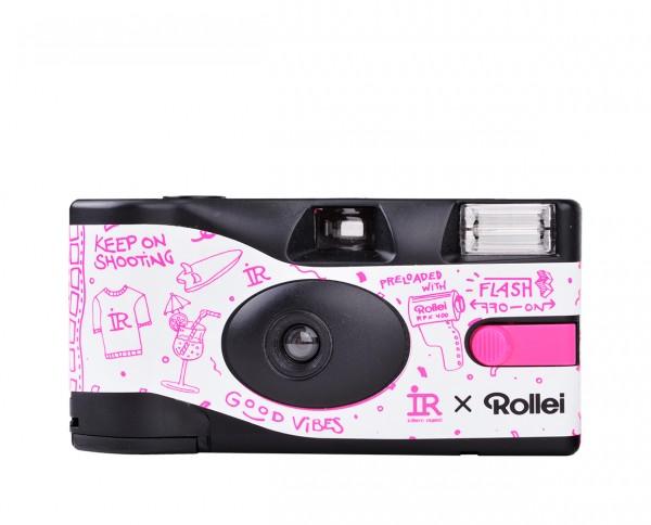 IR x Rollei | Recycelbare Einwegkamera | 27 Aufnahmen