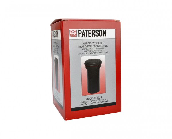 Paterson Multi Reel 3 developing tank for 3 pocket or 2 roll films