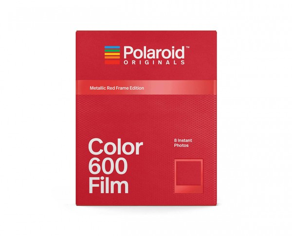 Polaroid Color 600 'Metgallic Red Frame Edition' | Instant film with 8 exposures