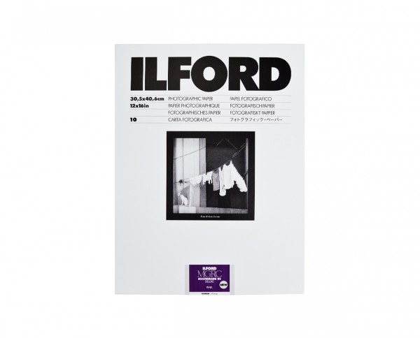 "Ilford Multigrade V RC De Luxe pearl (44M) 12x16"" (30.5x40.6cm) 10 sheets"