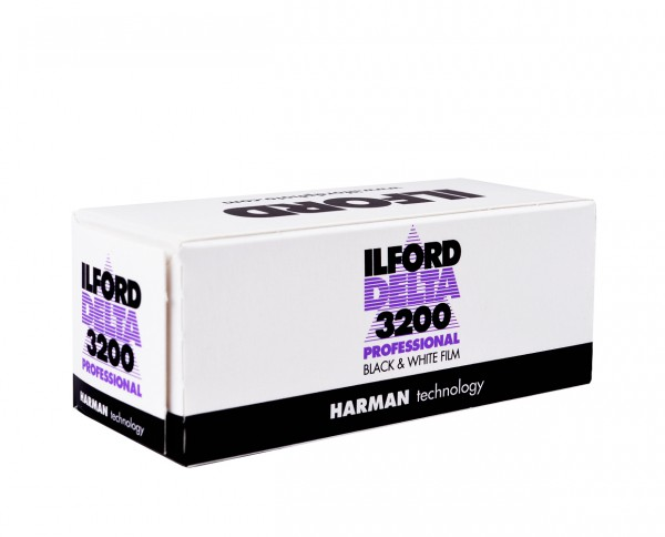 Ilford Delta 3200 roll film 120