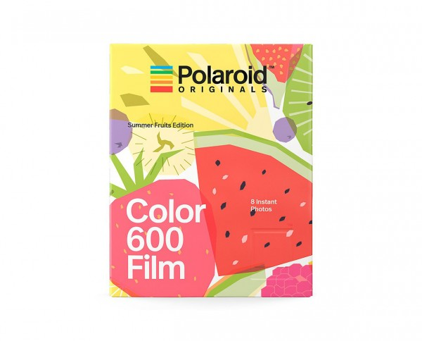 Polaroid Color 600 'Summer Fruid Edition' | Instant film with 8 exposures
