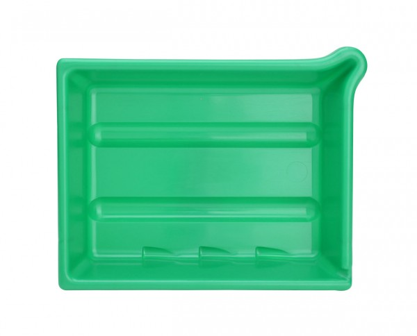 "AP developing tray 9.5x12"" (24x30cm) green"