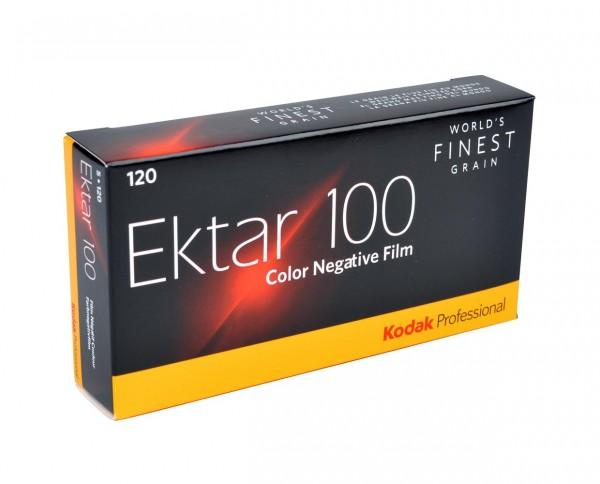 Kodak Ektar 100 roll film 120 pack of five
