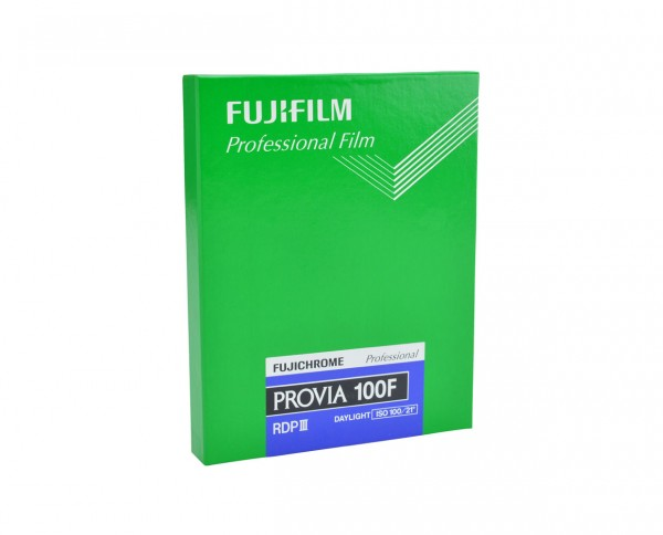 "Fuji Provia 100 F sheet film 4x5"" (10.2x12.7cm) 20 sheets"