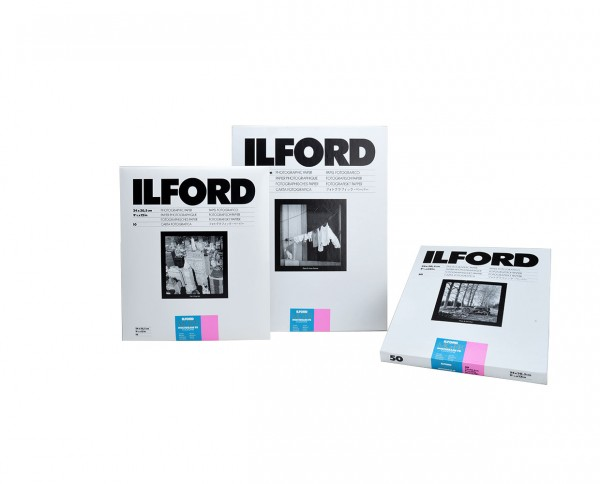 "Ilford MG FB cooltone glossy 7x9,5"" (17,8x24cm) 100 sheets"