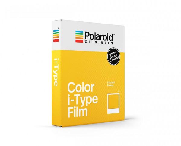 Polaroid Color i-Type Film | Instant film with 8 exposures