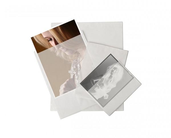 Pergamin Bildtasche 7x10cm 100 Blatt