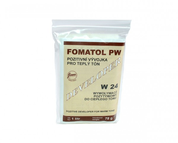 Fomatol Powder PW W24 warmtone paper developer for 1l