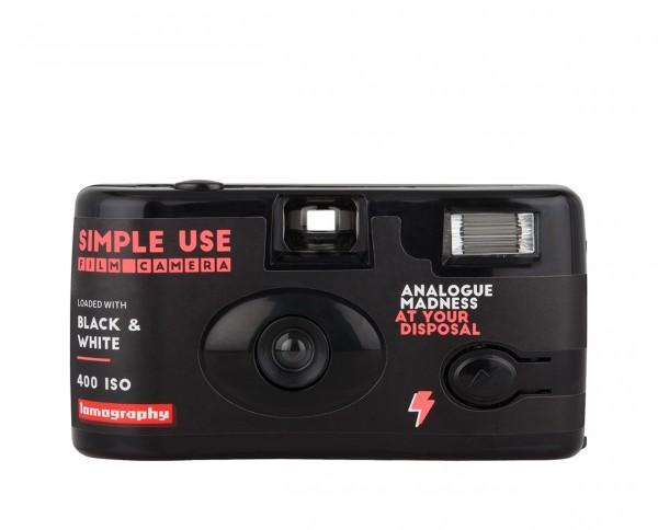 Lomography Simple-Use Filmkamera Schwarz-Weiß 400 135-36