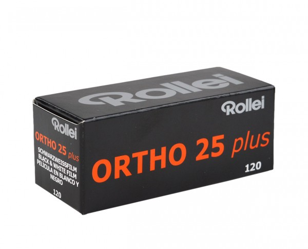 Rollei Ortho 25 plus | roll film 120