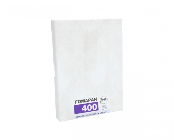 "Fomapan 400 sheet film 4x5"" (10.2x12.7cm) 50 sheets"