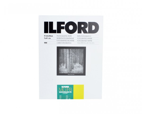 "Ilford Multigrade FB Classic matt (5K) 12,7x17,8cm (5x7"") 100 Blatt"