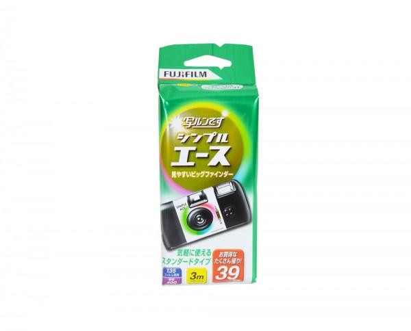 Fujicolor Einwegkamera | 400 ISO Farbnegativfilm mit 39 Aufnahmen 'Japan Edition' MHD 01.2019