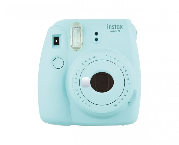 Fuji instax mini 9 instant camera ice blue