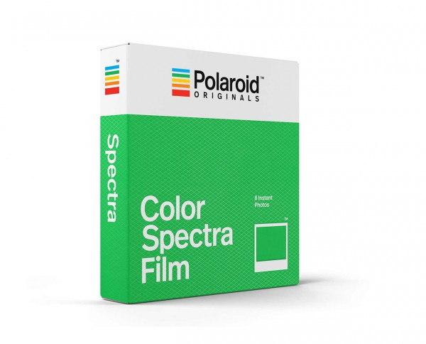 Polaroid Color Spectra Film | Instant film with 8 exposures