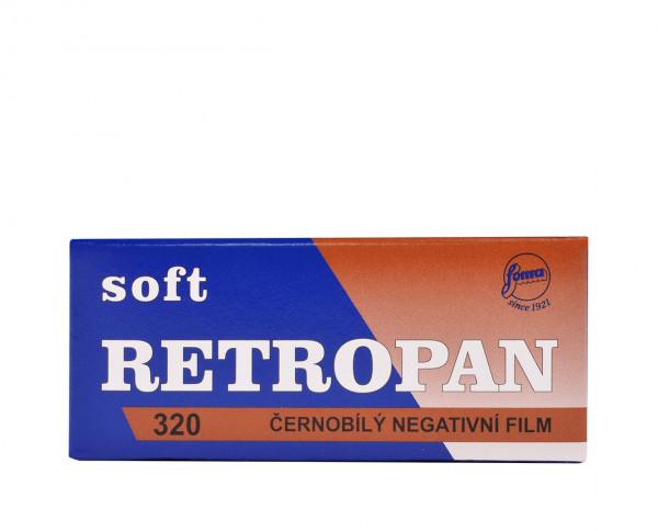 Foma Retropan 320 soft Rollfilm 120