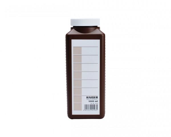 Kaiser Chemikalienflasche 1.000ml braun
