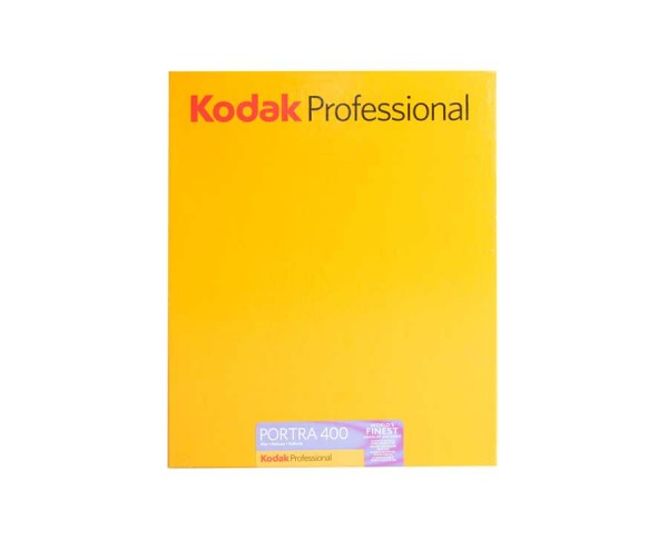 "Kodak Portra 400 sheet film 8x10"" (20,3x25,4cm) 10 sheets"
