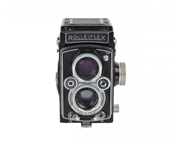 Rolleiflex 3.5A incl. original case, filter and lens hood | refurbished incl. 12 months warranty