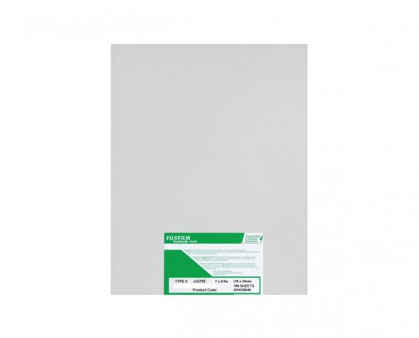 "Fuji Crystal Archive photographic color paper santine 7x9.5"" (17.8x24cm) 100 sheets"