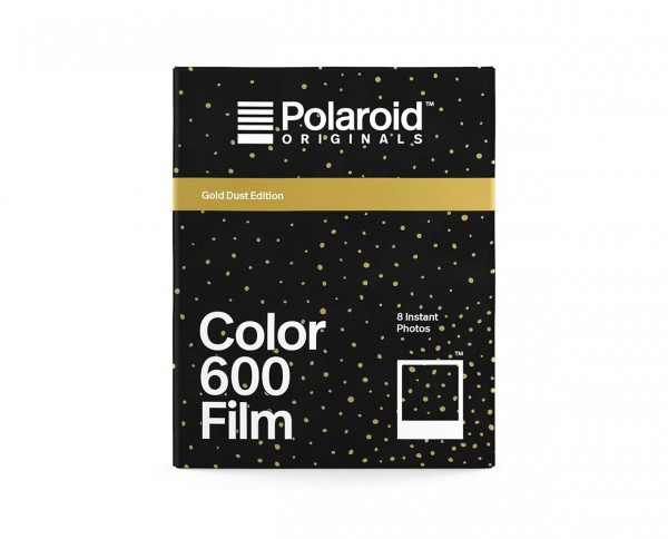 Polaroid Color 600 'Gold Dust Edition' | Color instant film with 8 exposures
