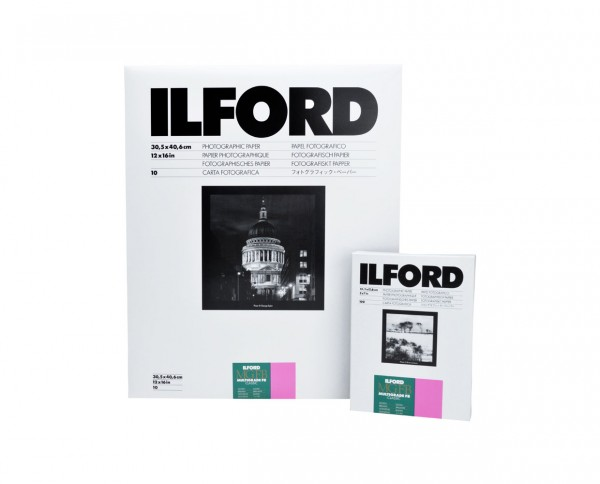"Ilford Multigrade FB Classic glossy (1K) 5x7"" (12.7x17.8cm) 100 sheets"