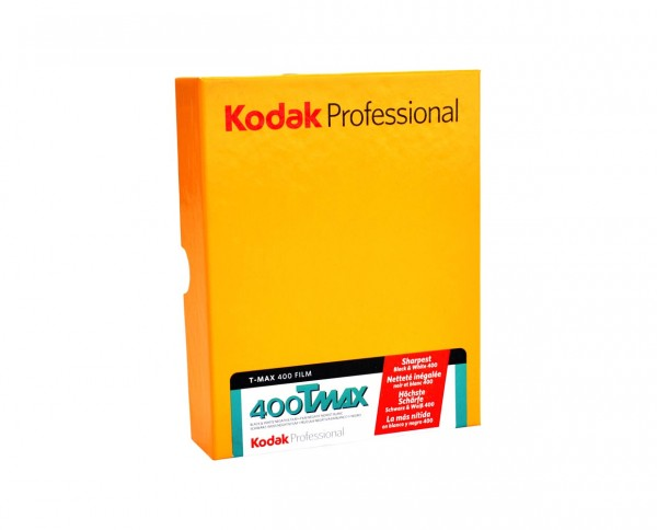 "SALE | Kodak T-MAX 400 sheet film 8x10"" (20.3x25.4cm) 10 sheets EXP 07.2020"