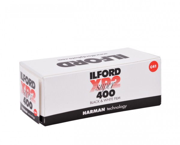 Ilford XP2 400 roll film 120