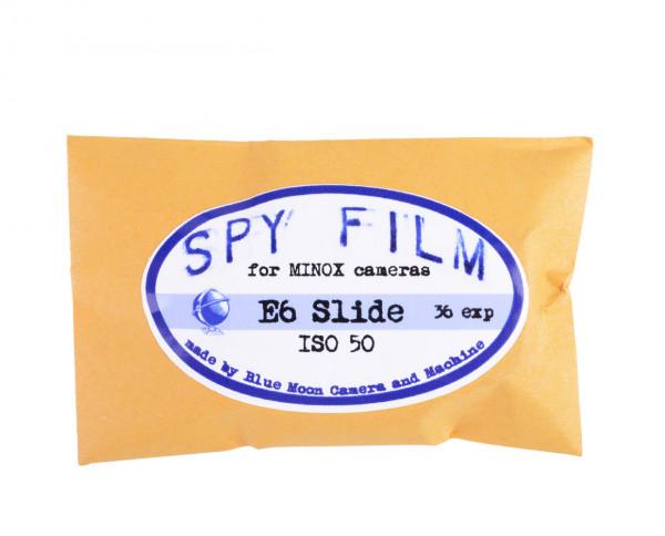 Minox 8x11mm Spy Film | 50 ISO Farbdiafilm (E6) mit 36 Aufnahmen