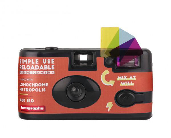 Lomography Simple Use Film Camera LomoChrome Metropolis 100-400 35mm 27 exposures