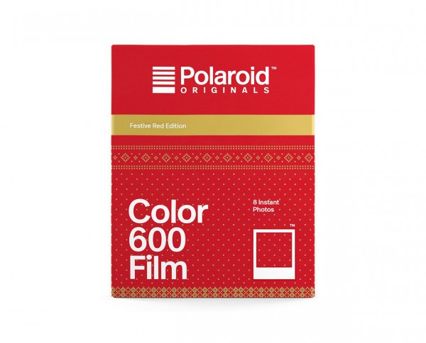 SALE | Polaroid Color 600 Film 'Festive Red Edition' - Production 07.2019