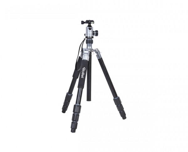 Rollei Tripod C6i Plus Aluminium 'Titanium' | Incl. ball head, 2 changing plates and bag