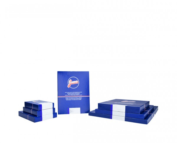 "Fomabrom 111 FB glänzend Gradation weich (S) 17,8x24cm (7x9,5"") 10 Blatt"