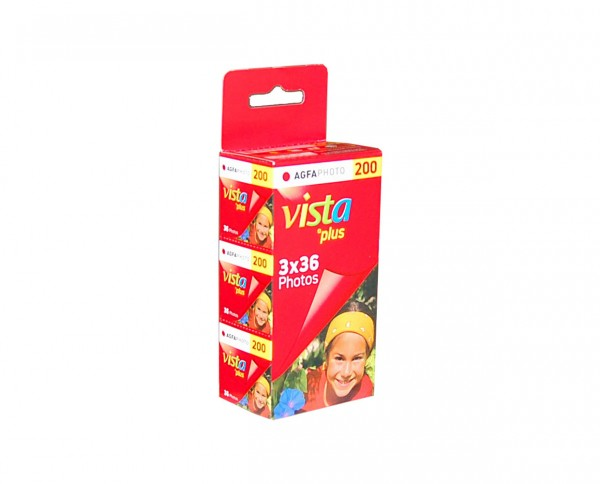 AgfaPHOTO Vista Plus 200 135-36 3er Pack