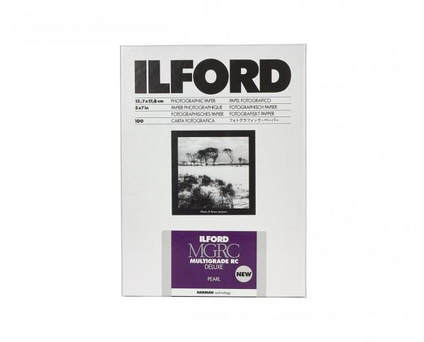 "Ilford Multigrade V RC De Luxe pearl (44M) 12,7x17,8cm (5x7"") 100 Blatt"
