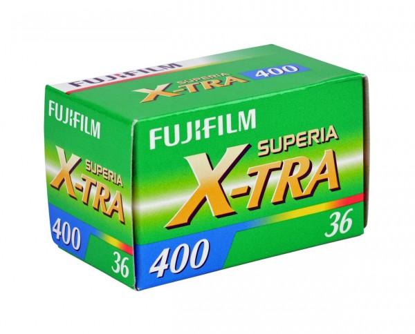 Fuji Superia X-TRA 400 35mm 36 exposures