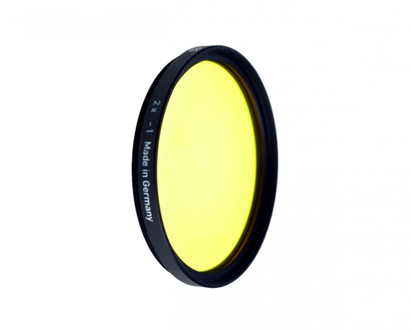 Heliopan black and white filter light yellow 5 diameter: 49mm (ES49)
