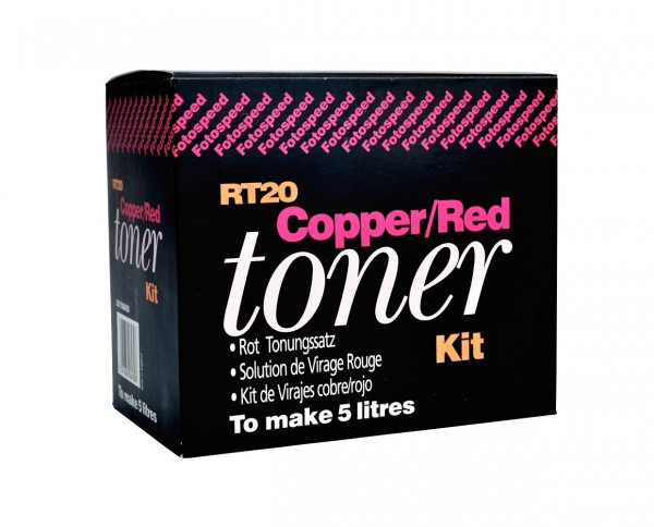 Fotospeed Kupfer-/ Rottoner 2x 500ml für 5L Arbeitslösung