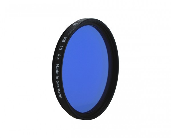 SALE | Heliopan color correction filter KB 15 (80A)