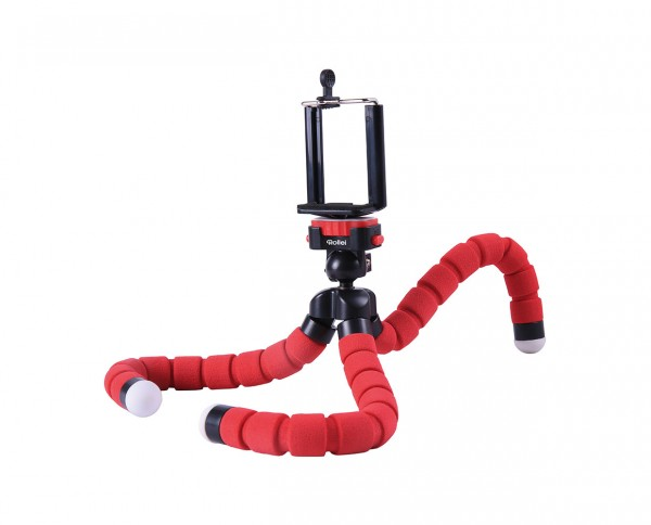 Rollei Monkey Pod | Clamping Tripod red